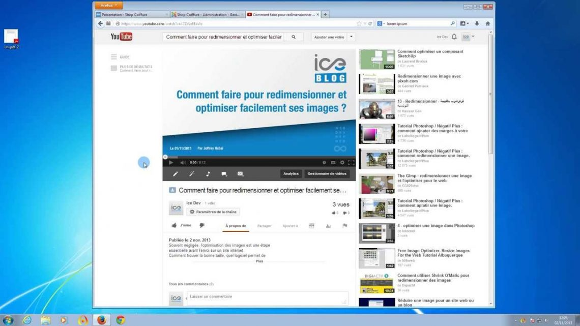 Comment creer une page web ?